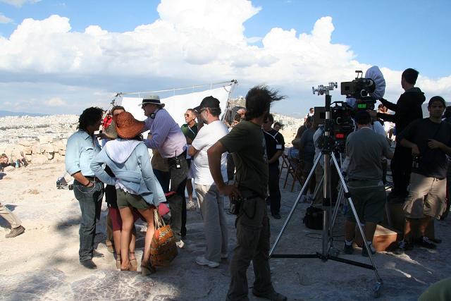 filming parthenon