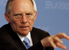 German Finance Minister Wolfgang Schaeuble is painting a grim picture for Greece