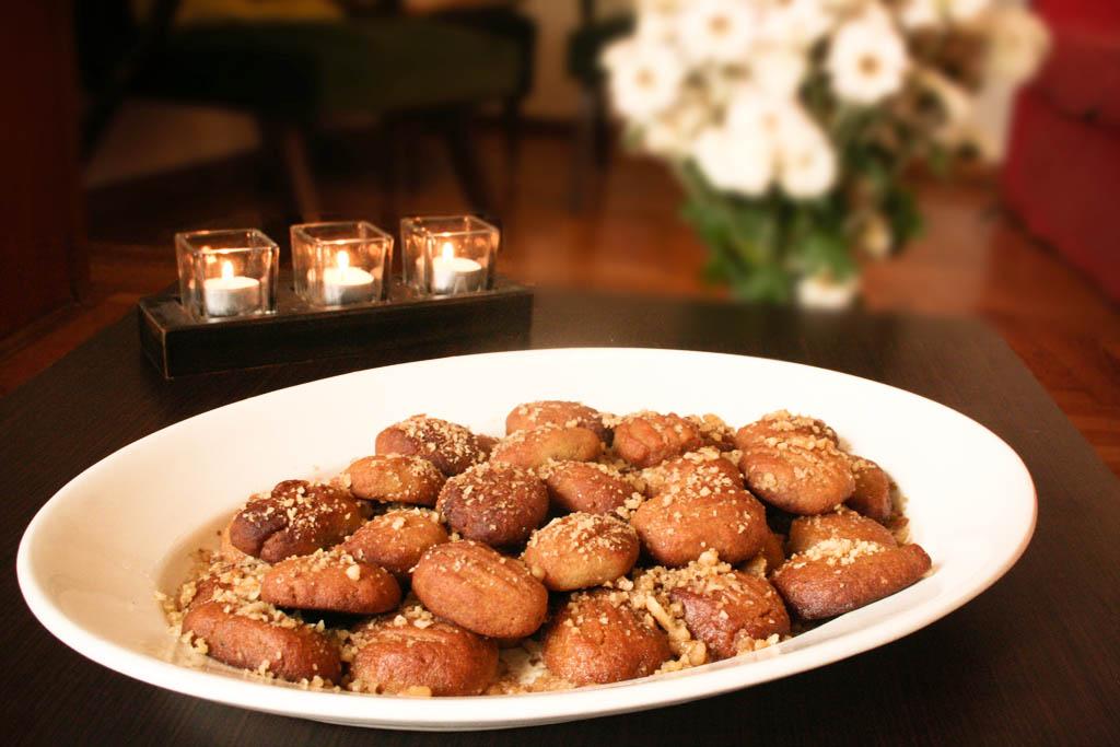 """Melomakarona,"" the honey-brandy variation of Greek Christmas cookies"