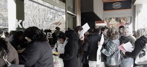 unemployment _Greece