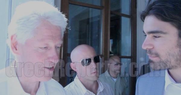 Bill Clinton in Greece