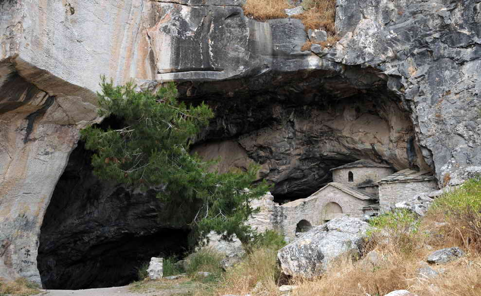 Greek Mystery of Ntavelis Cave: Greece x files