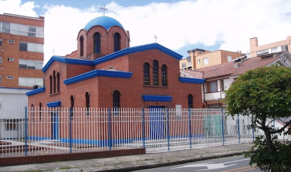 Greek church in Bogota, Colombia