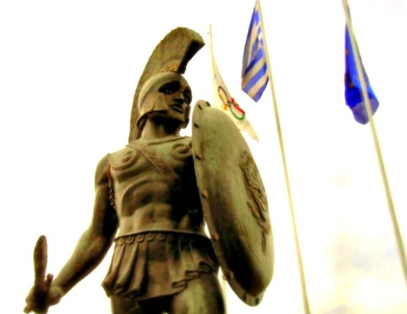 King Leonidas Statue battle of thermopylae
