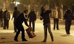 Anarchists Clash With Far Rightists