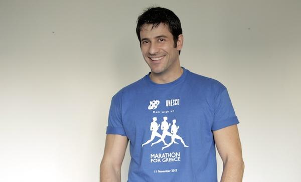 Alexis Georgoulis Athens Marathon