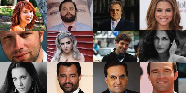 The 12 Greeks of 2012 in the entertainment industry