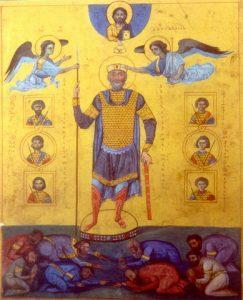 –Basil II, The Bulgar Slayer.