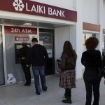 Cypriots line up at ATM's that ran out of cash