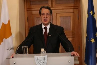 Cypriot President Nicos Anastasiades