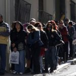 There are 1.3 million people in line at Greek unemployment offices