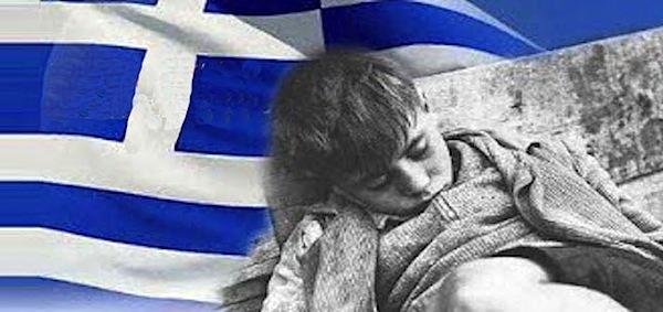 Greek children in poverty