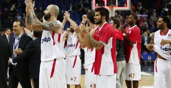 Olympiacos Defeated CSKA to meet Real Madrid in Euroleague final