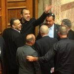 Golden Dawn MP Panagiotis Iliopoulos ejected from Parliament