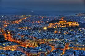 Evening in Athens - Parthenon