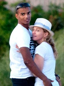 Madonna and boyfriend Brahim Zaibat