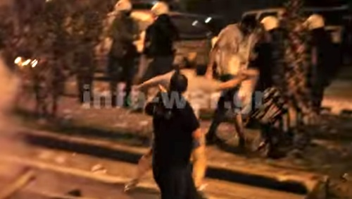 Video Shows Scene of Protests
