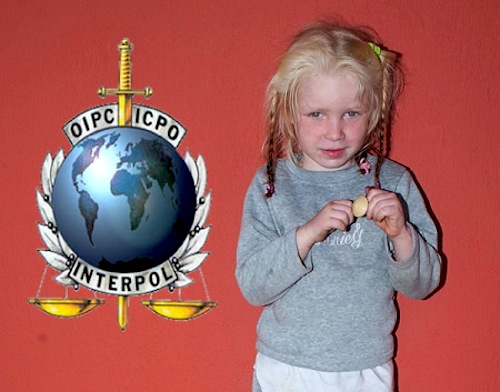 Interpol says there is no maych for little girl found in Greece