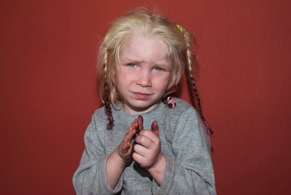 Maria is the little blond mystery girl found at a Roma Camp in Greece