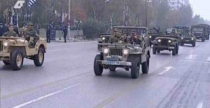 military parade Thessaloniki