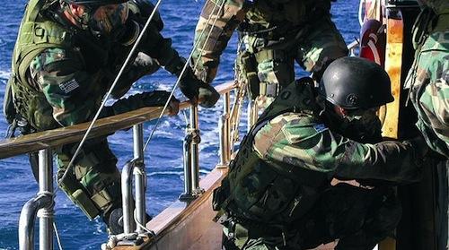 Greek Coastguard Halts Ship