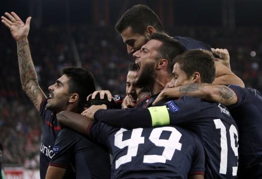 Olympiacos beat Anterlecht 3-1