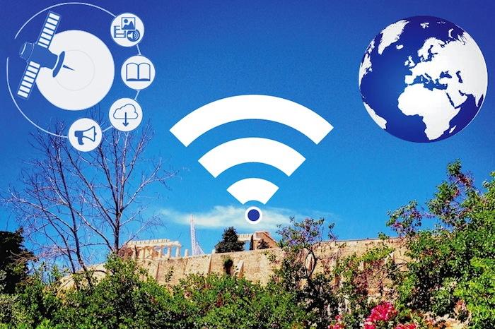 Greece offers Free Global Wi-fi