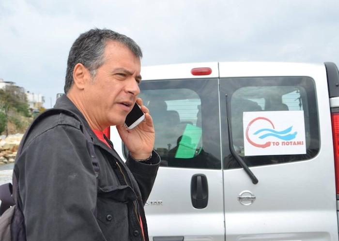 To Potami was formed by TV presenter Stavros Theodorakis
