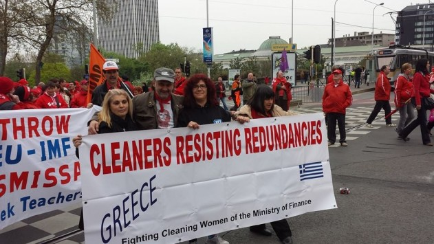 Cleaners in Brussels