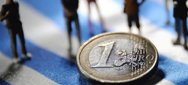 Euro in Greek flag