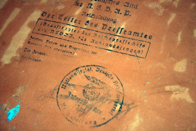 The Nazi stamp