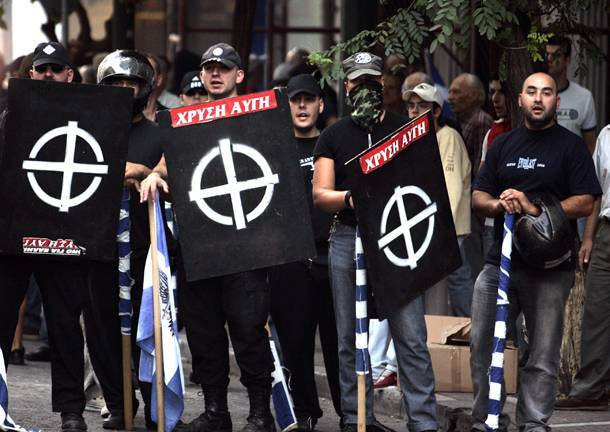 The zealots of Golden Dawn have been blamed for immigrant assaults