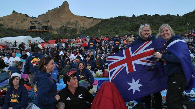 Australians Celebrating ANZAC Day