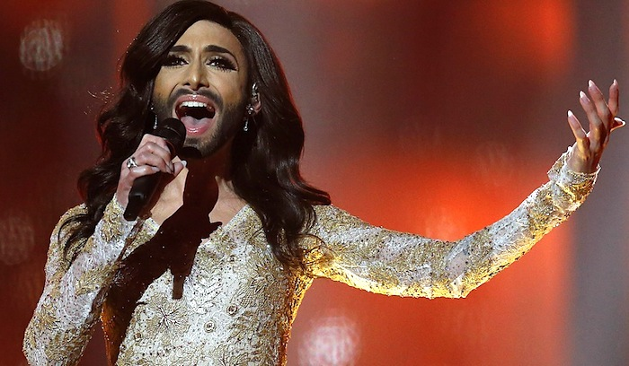 Drag Artist Concita is the 2014 Eurovision Winner