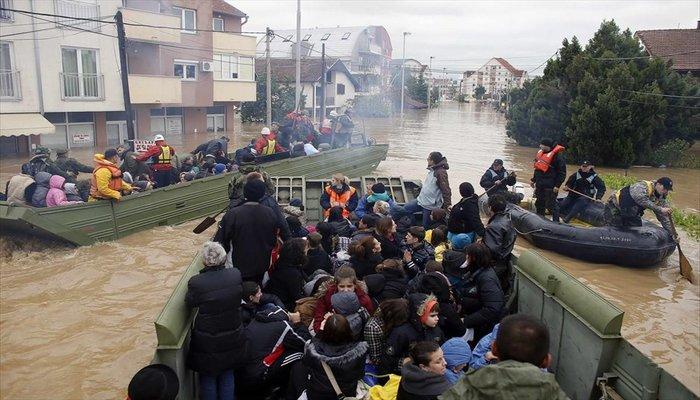 Floods in Bosnia-Serbia