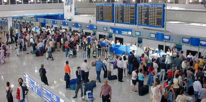 Greece-tourism-airports
