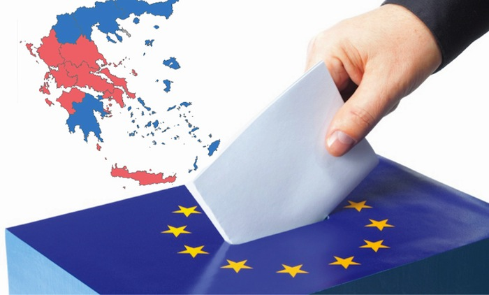 European Election Results from Greece