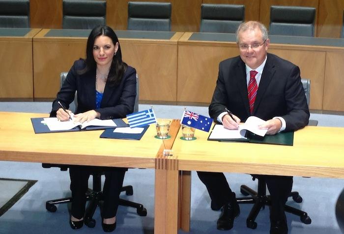 Greek-Australian Agreement for Work-Holiday Visas