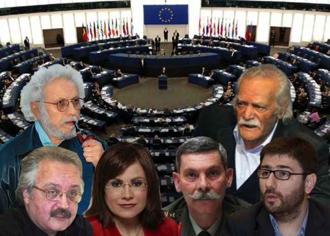 Greek MEPs - 2014 euro elections