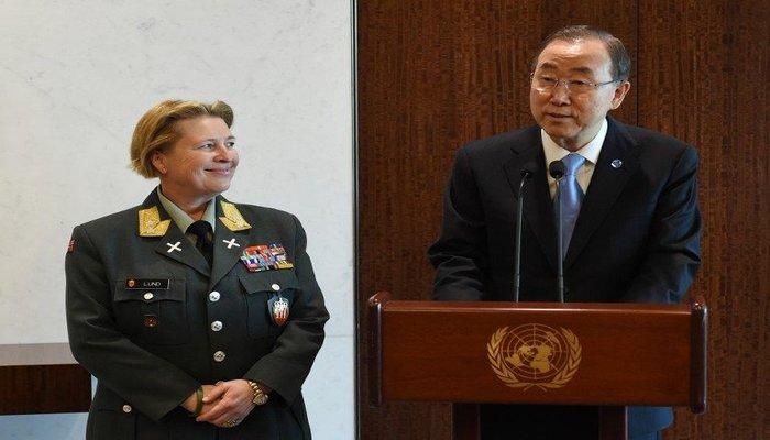 Kristin Lund, UN Force Commander