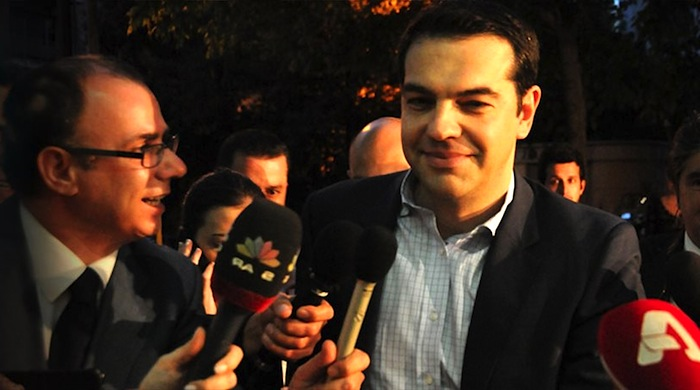 SYRIZA leader Alexis Tsipras is getting a lot of attention now