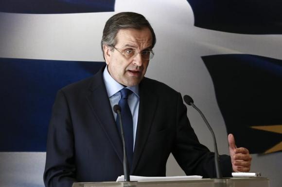 Greek Premier Antonis Samaras is going after Golden Dawn