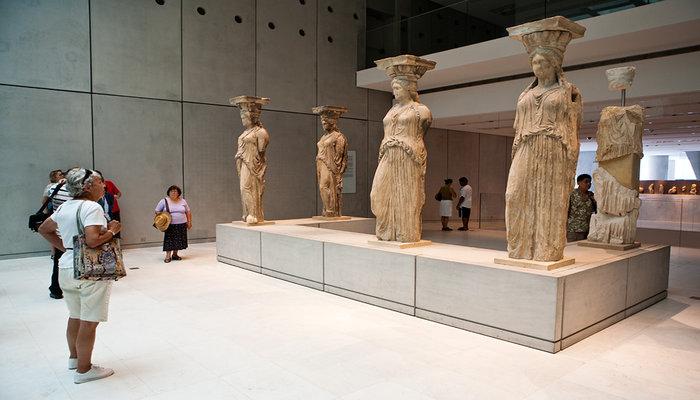 Acropolis Museum - Caryatids