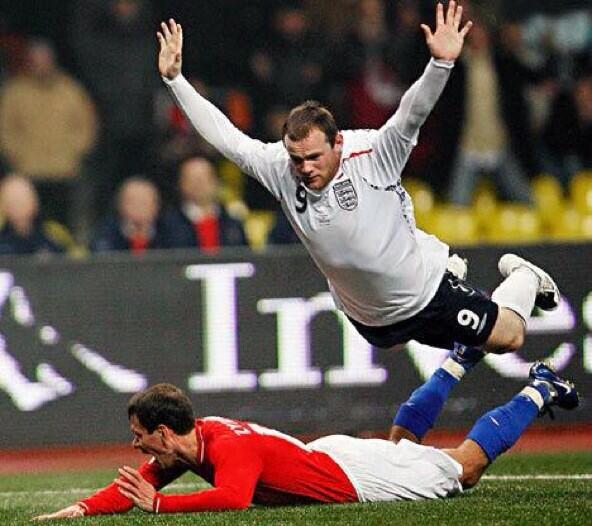 The English perfected the Flop. They do it every four years at the World Cup.