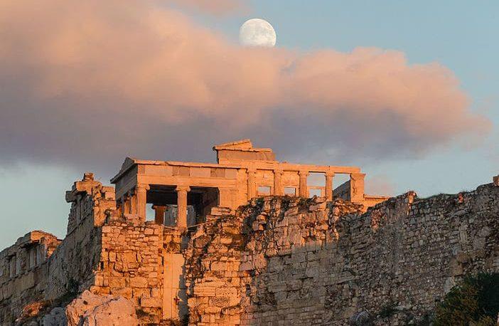 Ancient Greek Temple of Erechtheum