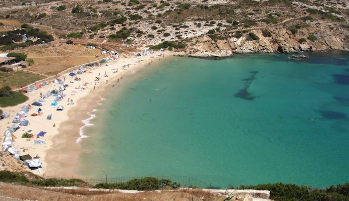 Kendros Beach, Donnousa