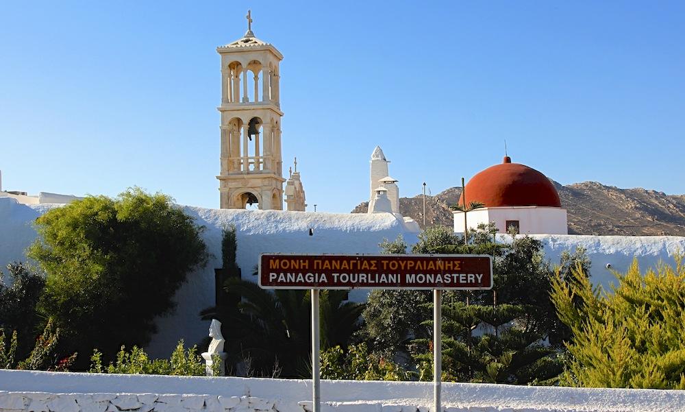 Panagis Tourliani Minastery, Mykonos