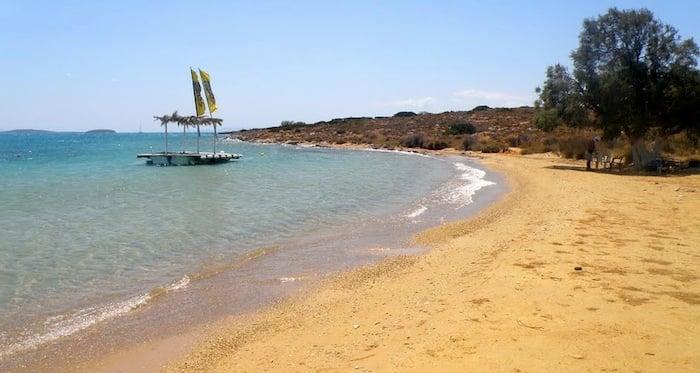 Psaraliki Beach, Antiparos