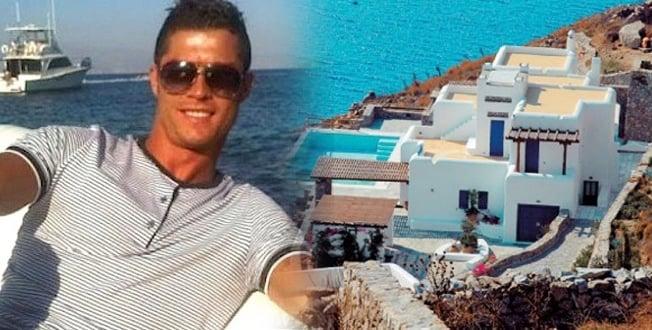 Ronaldo-in-Mykonos