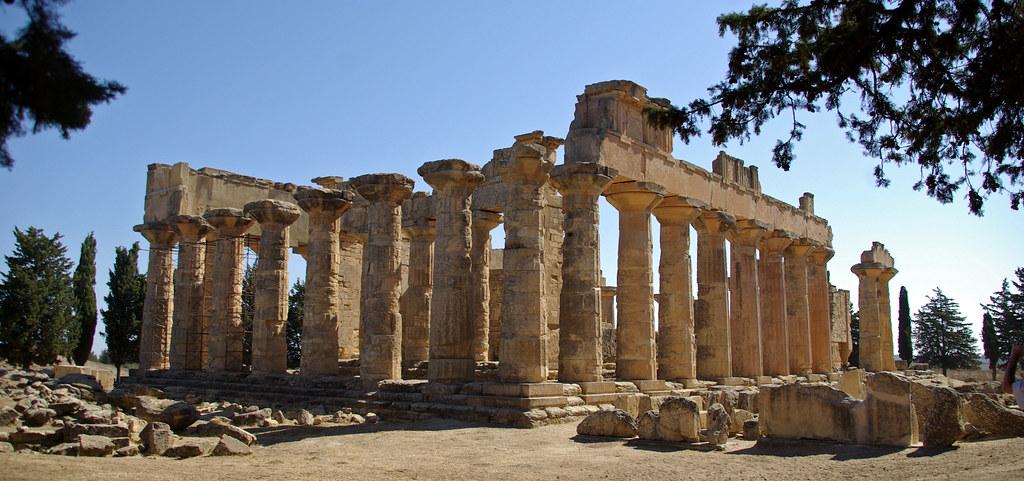 Ancient Greek Temple of Zeus